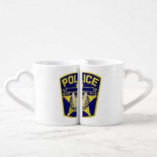 Policeman's Lovers' Mug Set