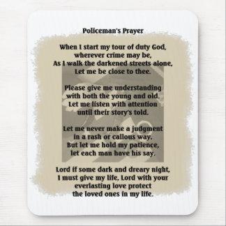 Policeman's Prayer Mouse Pad