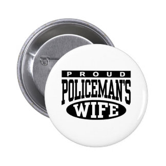 Policeman's Wife Pinback Button