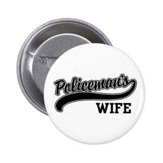 Policeman's Wife Pin