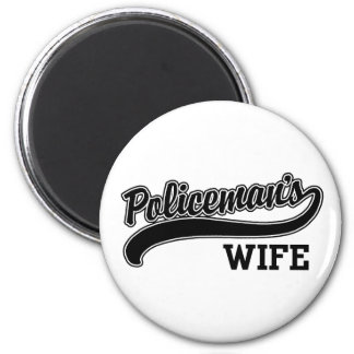 Policeman's Wife Magnet