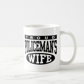 Policeman's Wife Classic White Coffee Mug