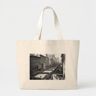 Policemen's Parade on 5th Ave, NYC: 1900 Tote Bag