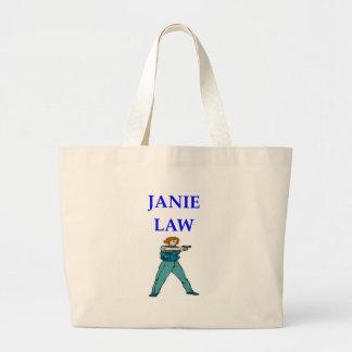 POLICEWOMAN LARGE TOTE BAG