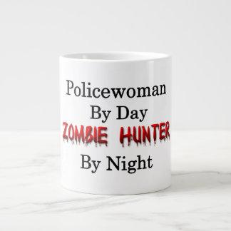 Policewoman/Zombie Hunter Large Coffee Mug
