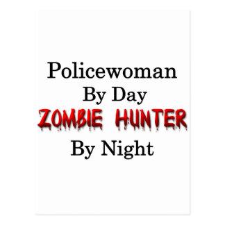Policewoman/Zombie Hunter Postcard