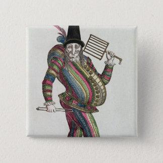 Polichinelle Pinback Button