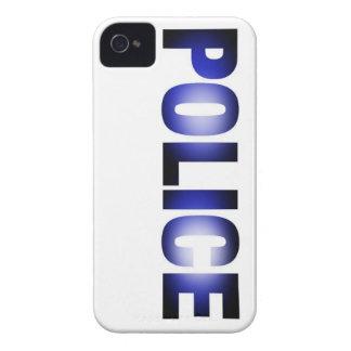Policía 3 iPhone 4 cárcasas
