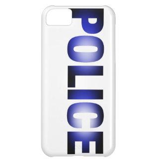 Policía 3 funda para iPhone 5C