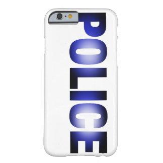 Policía 3 funda de iPhone 6 barely there