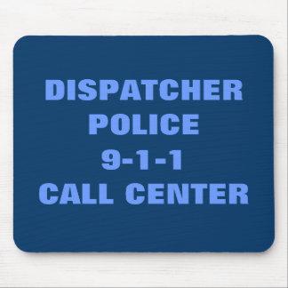 Policía 9-1-1 tapete de ratón