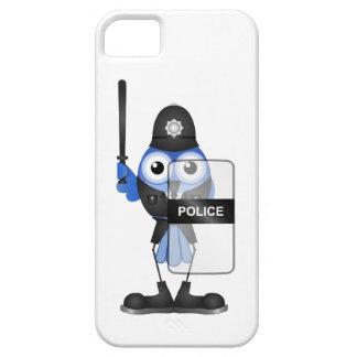 Policía antidisturbios funda para iPhone SE/5/5s