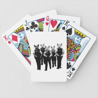 Policía británica anti cartas de juego