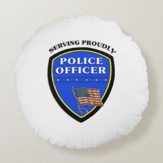 Policía Cojín Redondo