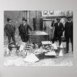 Policía con todavía confiscado, 1922