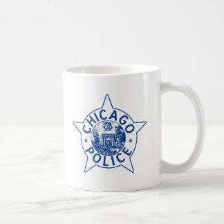Policía de Chicago (VINTAGE) Taza