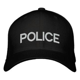 POLICÍA de encargo de la gorra de béisbol