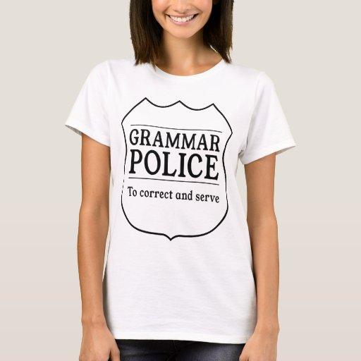 Policía de la gramática playera