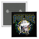 Policía de la motocicleta pin