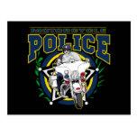 Policía de la motocicleta postal