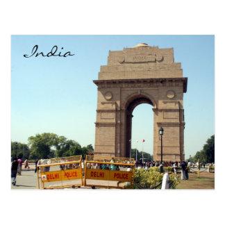 policía de la puerta de la India Postal