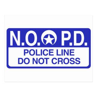 Policía de New Orleans Postales