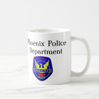 Policía de Phoenix que compite con para la educaci Taza De Café