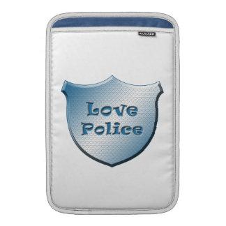Policía del amor funda macbook air