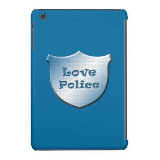 Policía del amor fundas de iPad mini