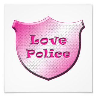 Policía del amor arte con fotos