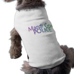 Policía del carnaval camisa de perrito