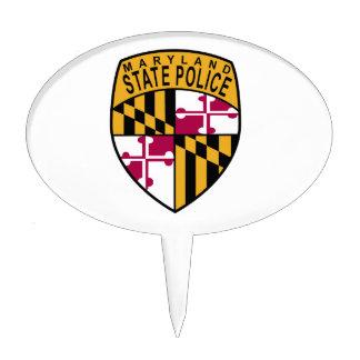 Policía del estado de Maryland Figura De Tarta