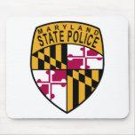 Policía del estado de Maryland Alfombrillas De Ratones