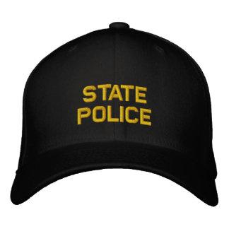 Policía del estado gorras bordadas