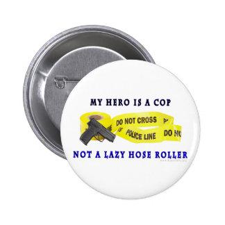 Policía del héroe del POLI Pins