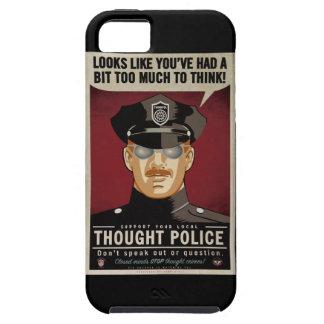 Policía del pensamiento iPhone 5 fundas
