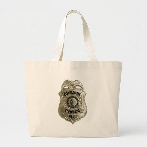 Policía del pliegue bolsas