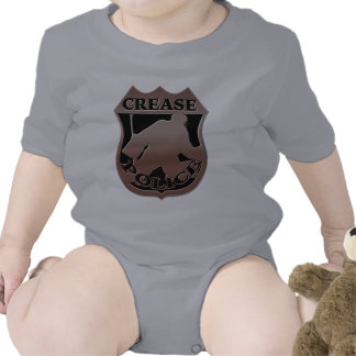Policía del pliegue del portero del hockey traje de bebé