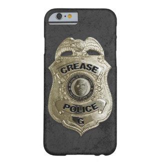 Policía del pliegue funda para iPhone 6 barely there
