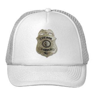 Policía del pliegue gorros