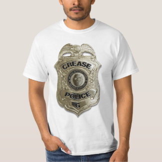 Policía del pliegue remeras