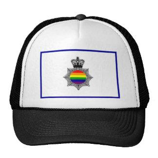 Policía gay asoc., Reino Unido Gorros Bordados