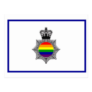 Policía gay asoc., Reino Unido Tarjeta Postal