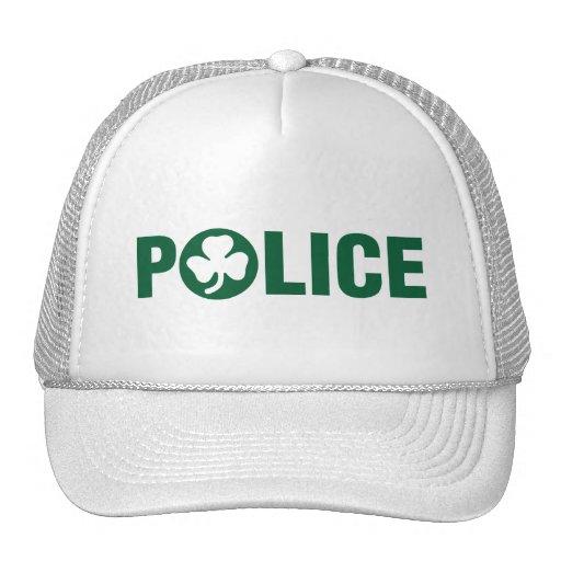 Policía irlandesa gorros