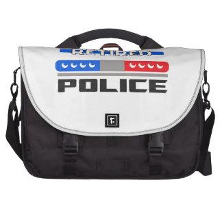 Policía jubilada bolsa para ordenador