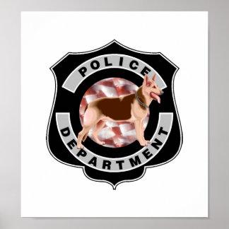 Policía K9 Póster