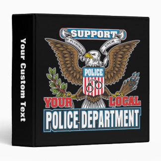 """Policía local de la ayuda carpeta 1 1/2"""""""