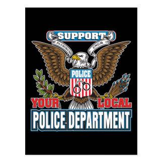 Policía local de la ayuda postal
