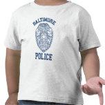 Policía Maryland de Batimore Camiseta