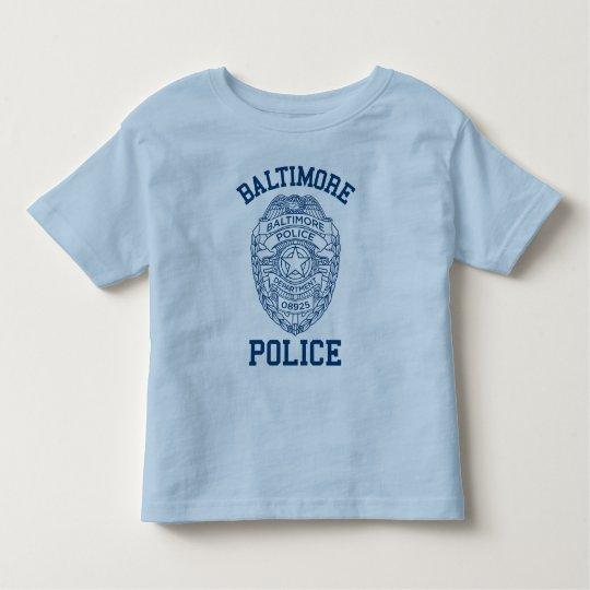 Policía Maryland de Batimore Playera De Bebé